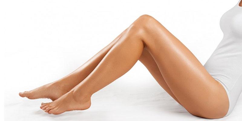 gambe epilazione